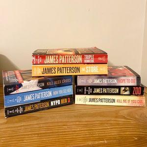 James Patterson Book Bundle